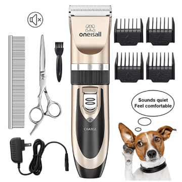 oneisall cordless dog grooming clippers