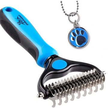 pat your pet rake brush for long hair dogs