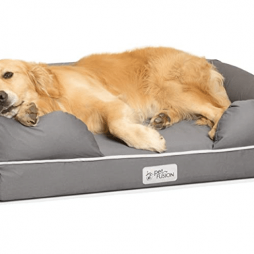 petfusion dog bed for dog with arthritis
