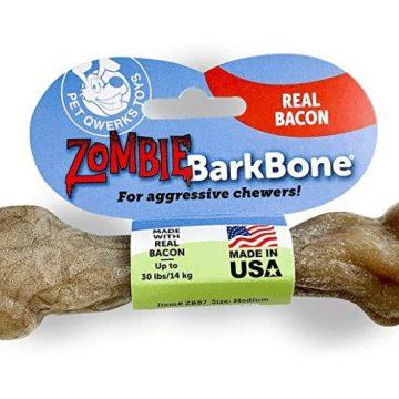 zombie barkbone by pet qwerks